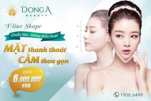 Tạo hình gương mặt V-line Shape không phẫu thuật, chuẩn V-line Hàn Quốc (*)
